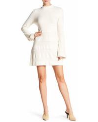 Frame Denim Bell Sleeve Sweater Dress