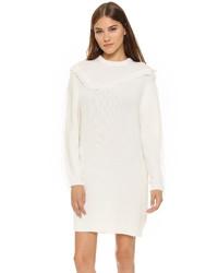 Kenzo Fringe Sweater Dress
