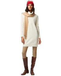 Lambswool Turtleneck Long Sleeve Dress