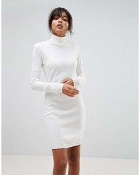 Boohoo Roll Neck Sweater Dress