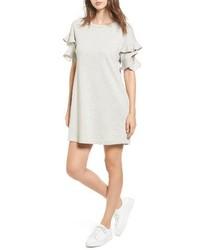 Ruffle cutout sweatshirt dress medium 4381118