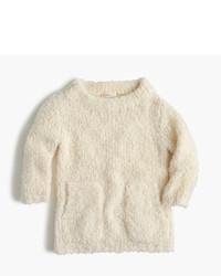 J.Crew Girls Fuzzy Popover Sweater