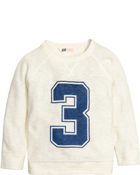 H&M Knit Sweatshirt Dark Blue Kids