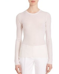 Michael Kors Michl Kors Collection Fitted Cashmere Sweater