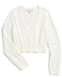 Ruby & Bloom Girls Dahlia Sparkle Bolero Sweater