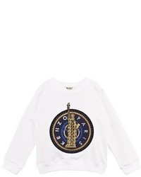 Kenzo White Statue Of Liberty Sweatshirt