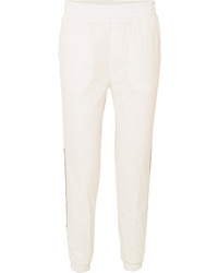 Paco Rabanne Logo Detailed Shell Track Pants