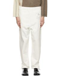Maison Margiela Off White 1con Lounge Pants