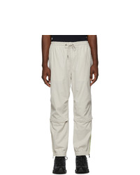 Moncler Off White Corduroy Sport Trousers