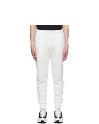 Nike Off White Fleece Sportswear Club Lounge Pants