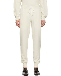 Tom Ford Off White Knit Lounge Pants