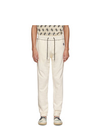 Kenzo Off White Tiger Crest Jogger Lounge Pants