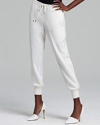Vince Sweatpants Leather Side Strapping