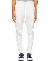 Tom Ford White Jersey Lounge Pants