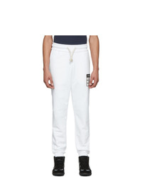 Maison Margiela White Stereotype Lounge Pants