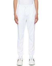 Valentino White Vltn Tag Lounge Pants