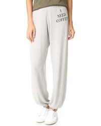 Wildfox couture wildfox desperate morning sweatpants medium 761602