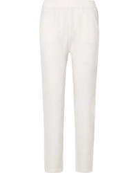 Allude Wool And Cashmere Blend Track Pants