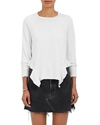 NSF Adelaide Cotton Blend French Terry Sweatshirt