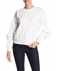 Lucca Couture Alice Ruffle Sleeve Sweatshirt