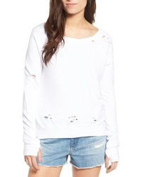 Pam & Gela Annie Destroyed Highlow Sweatshirt
