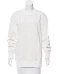 Vera Wang Bead Embellished Oversize Sweatshirt W Tags