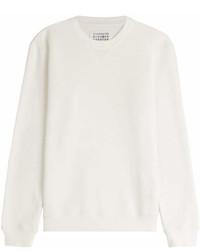 Maison Margiela Cotton Sweatshirt With Elbow Patches
