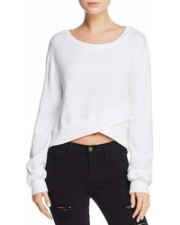 Pam & Gela Crossover Cropped Sweatshirt