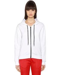 MSGM Embroidered Cotton Sweatshirt