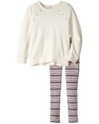 Splendid Littles Grommet Sweatshirt Set Girls Active Sets