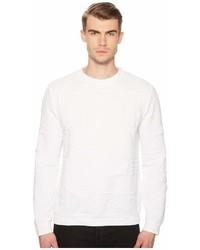 Versace Jeans Logo Textured Sweatshirt Sweatshirt