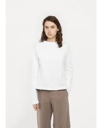 Sunspel Loopback Cropped Sweatshirt
