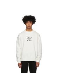 Tiger of Sweden Jeans Off White Fleek Sweatshirt