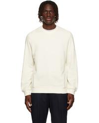 Brunello Cucinelli Off White French Terry Sweatshirt