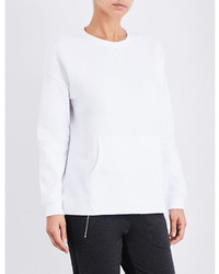 The White Company Oversized Cotton Jersey Sweatshirt