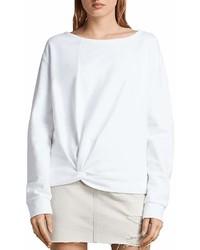 AllSaints Paloma Twist Front Sweatshirt