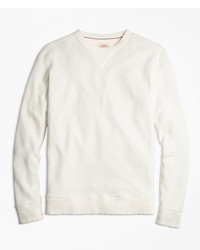 Brooks Brothers Pique Crewneck Sweatshirt