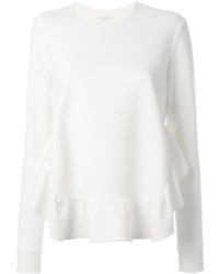 Stella McCartney Ruffle Hem Sweatshirt