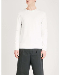 Comme des Garcons Shirt Panelled Jersey Sweatshirt