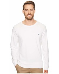 Polo Ralph Lauren Spa Terry Long Sleeve Knit Sweatshirt Clothing