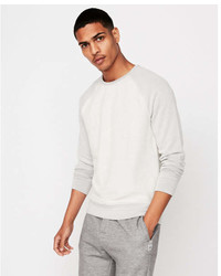 Express Terry Crew Neck Sweatshirt