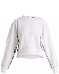 adidas by Stella McCartney Train Crew Neck Cropped Sweatshirt