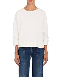 Warm Minimal Cotton Terry Sweatshirt