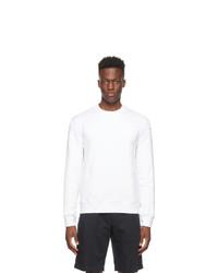 Ermenegildo Zegna Couture White Logo Sweatshirt