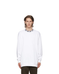 Acne Studios White Motif Future Sweatshirt