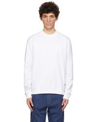 Fendi White Trompe Loeil Sweatshirt