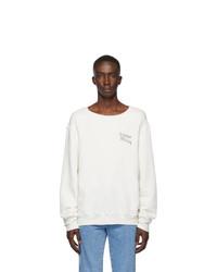 Simon Miller White Waz Sweatshirt