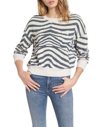 Zebra print sweatshirt medium 4355074