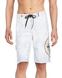 Affliction Royal Chromatic Swim Boardshorts