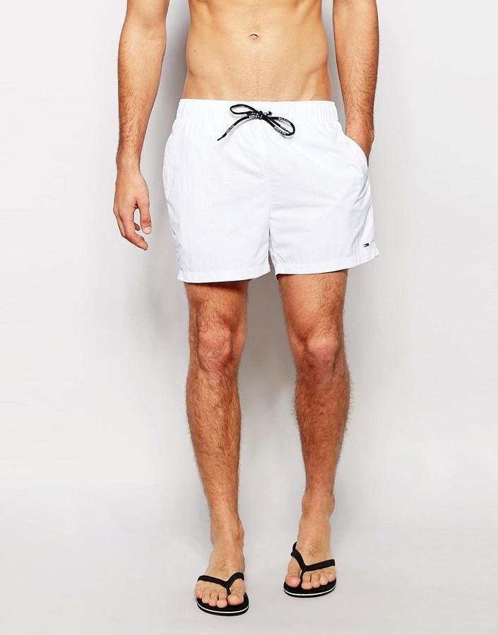 ... White Swim Shorts Tommy Hilfiger Flag Swim Shorts ... 3ac489c3f